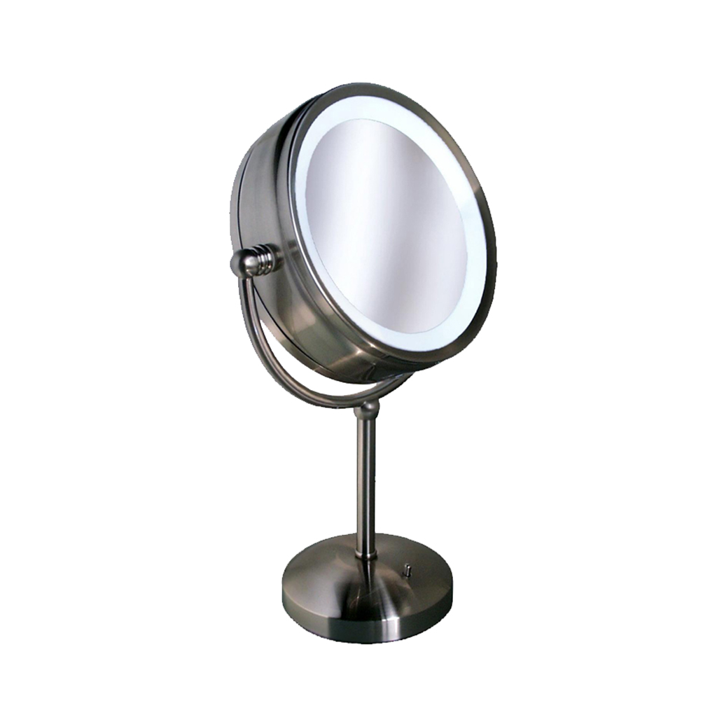 Clarity Double Sided Lighted Vanity Mirror With Satin (M-1V)