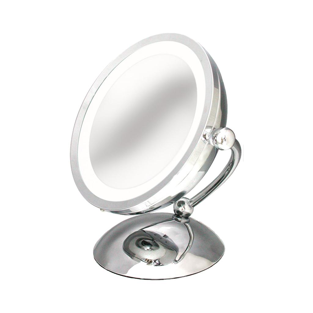 V-arm Lighted Vanity Mirror (M-3V)