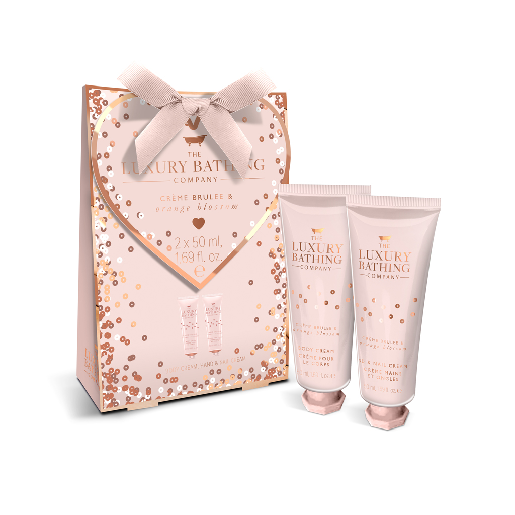 Creme Brulee & Orange Blossom All Heart Gift Set