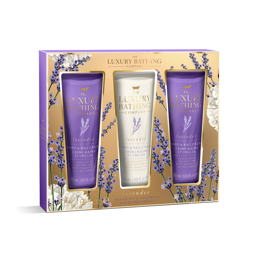 Lavender Collection Calming Trio Gift Set