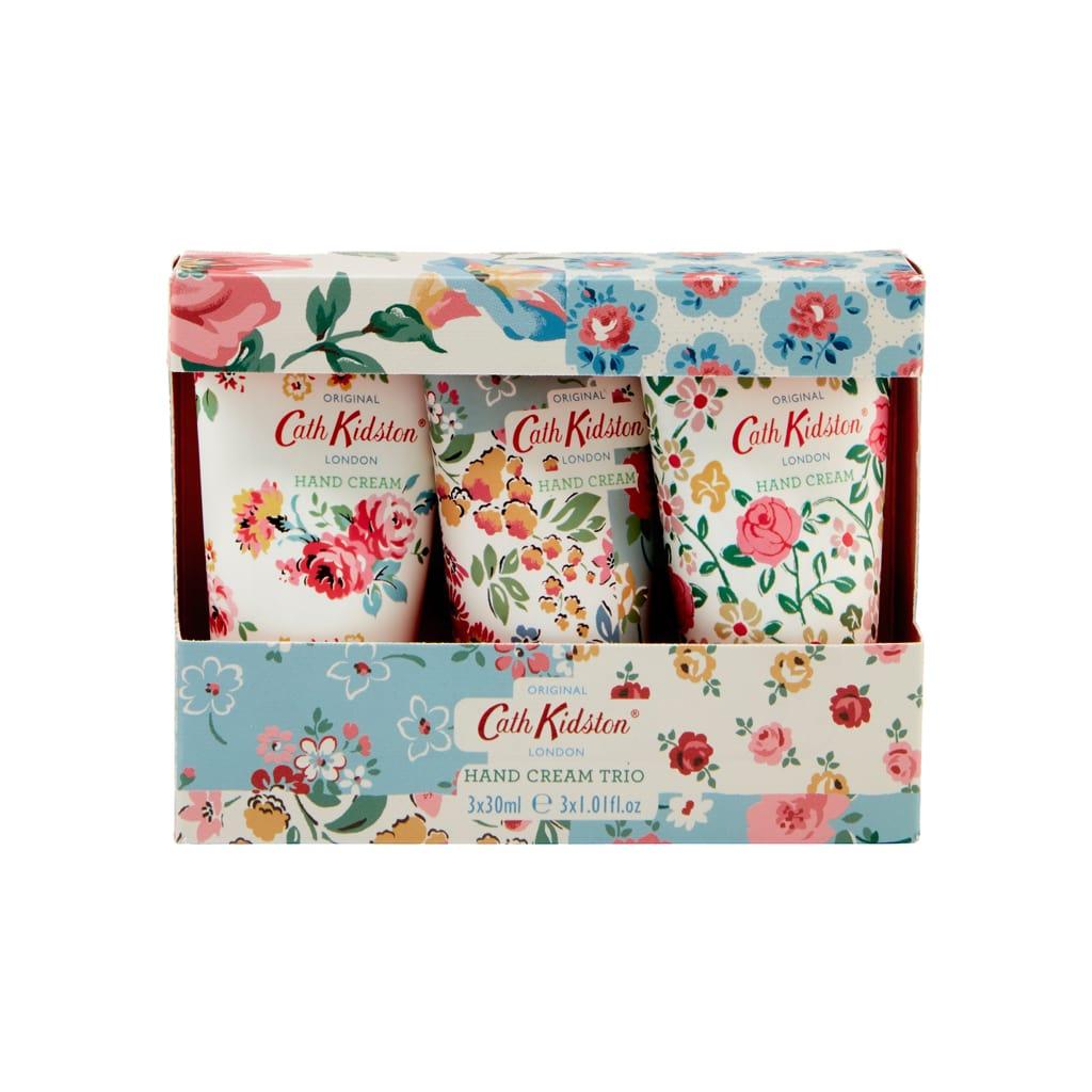 Cath Kidston Cottage Patchwork Hand Cream Trio 3x30ml