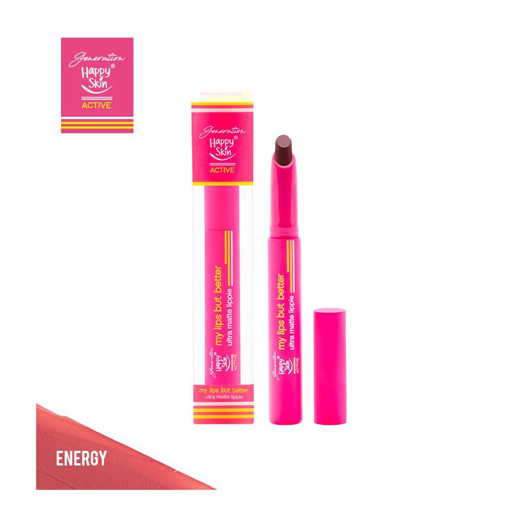 Generation Happy Skin My Lips But Better Ultra Matte Lippie in Energy
