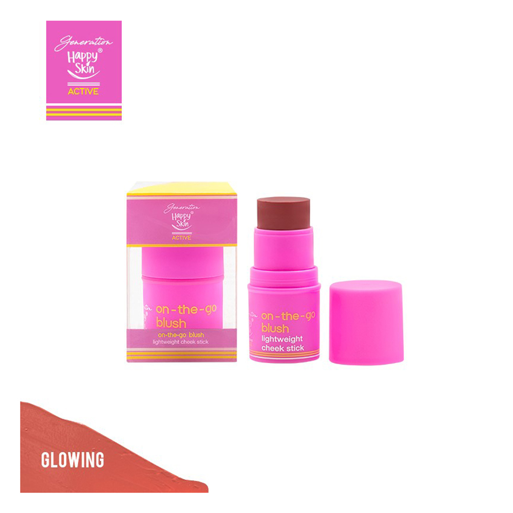 Generation Happy Skin On The Go Blush Lightweight Cheek Stick In Glowing