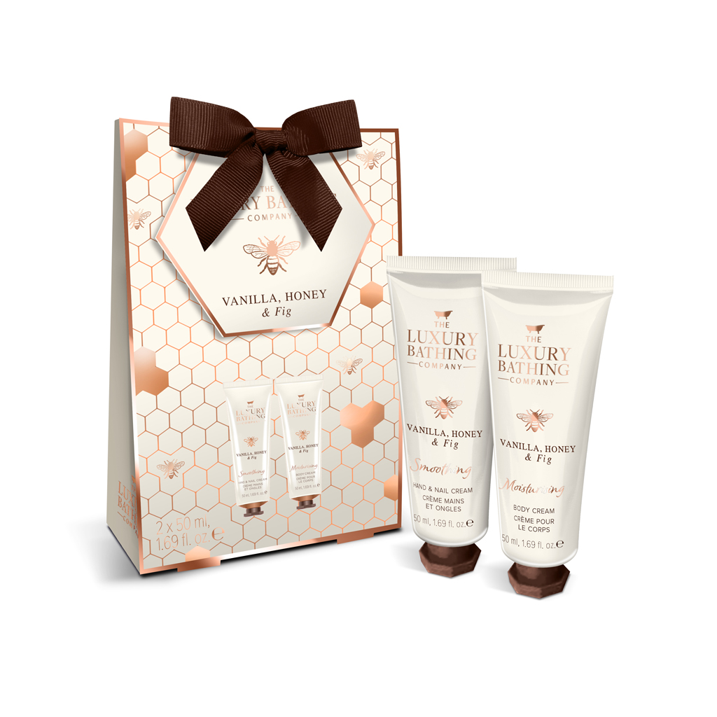 Vanilla, Honey & Fig Collection - Hand Heaven