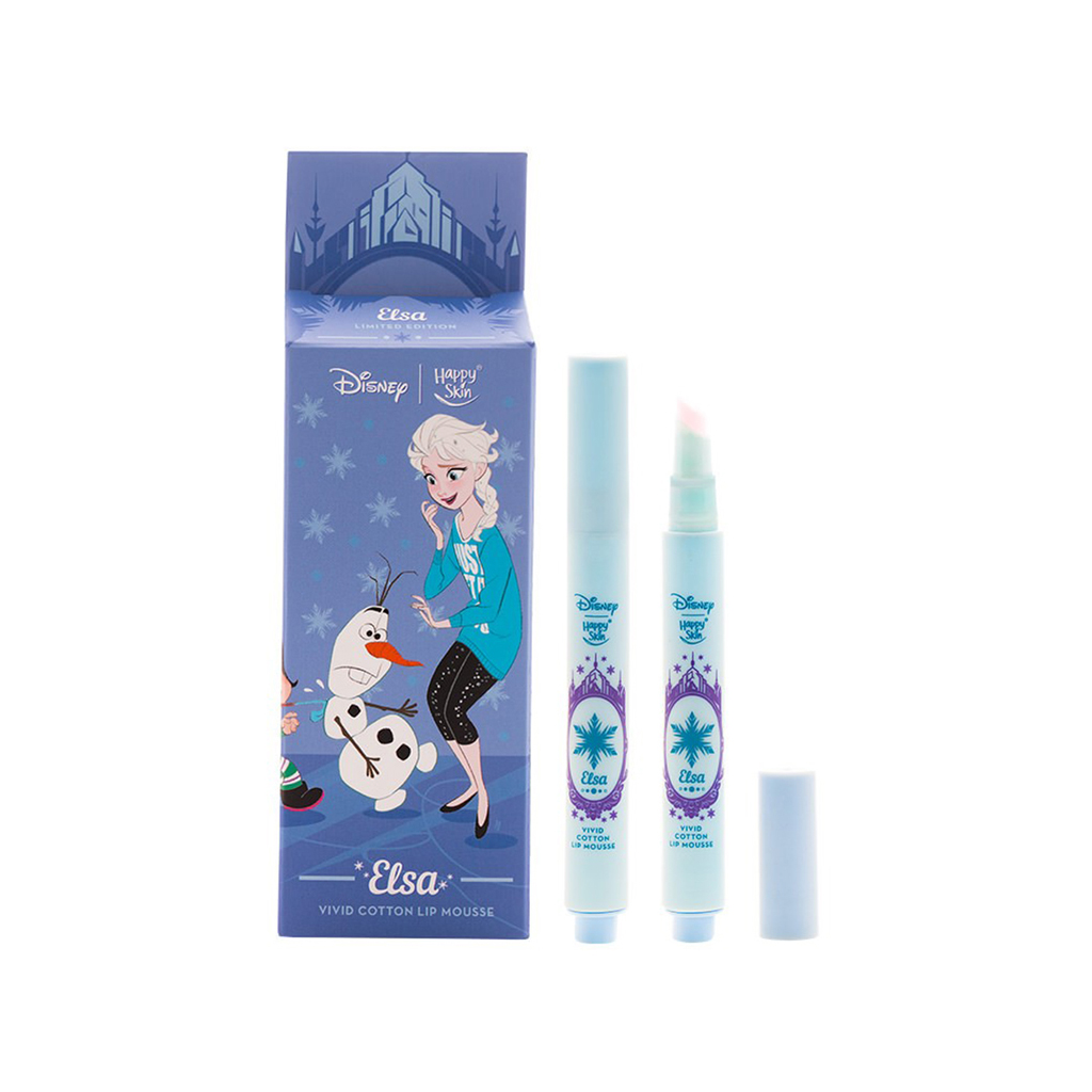 Disney Vivid Cotton Lip Mousse-Elsa