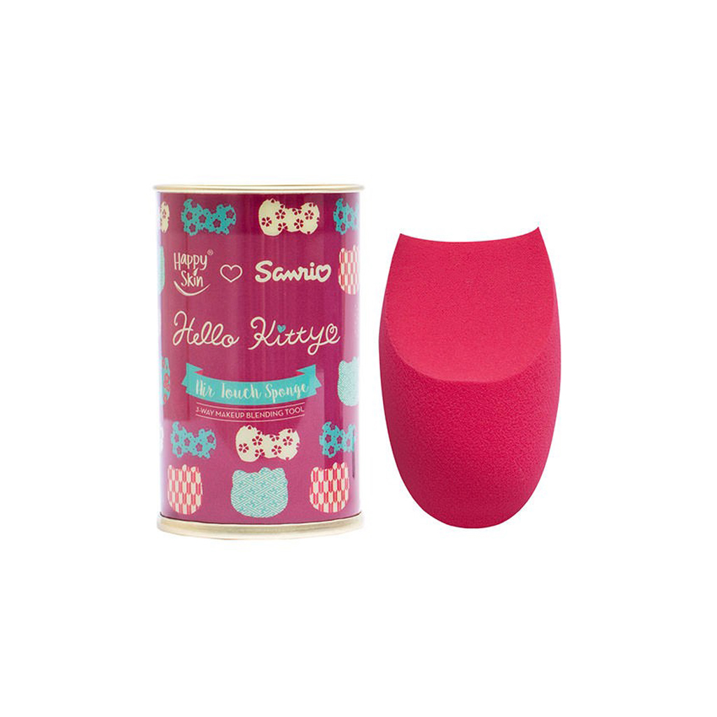 Sanrio Air Touch Sponge 3-Way Makeup Blending Tool In Hello Kitty