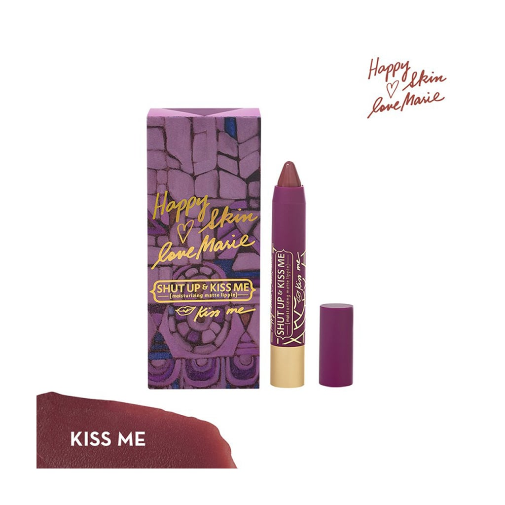 Love Marie Shut Up & Kiss Me Moisturizing Matte Lippie in Kiss Me