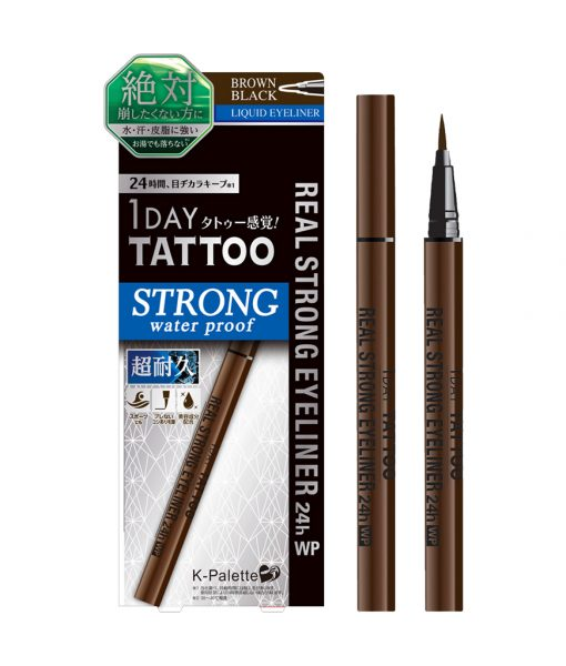 1Day Tattoo Real Strong Eyeliner 24H WP