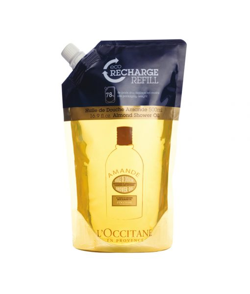 Almond Shower Oil Eco Refill
