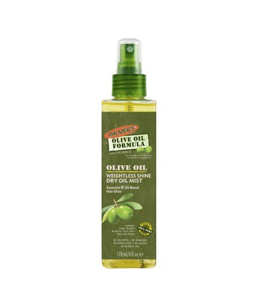 Olive Oil Weightless Shine Dry Oil Mist