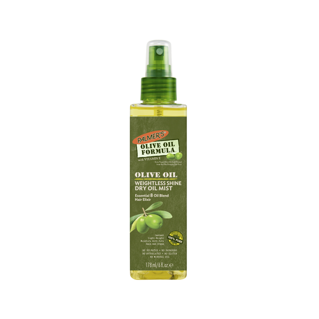 Olive Oil Weightless Shine Dry Oil Mist