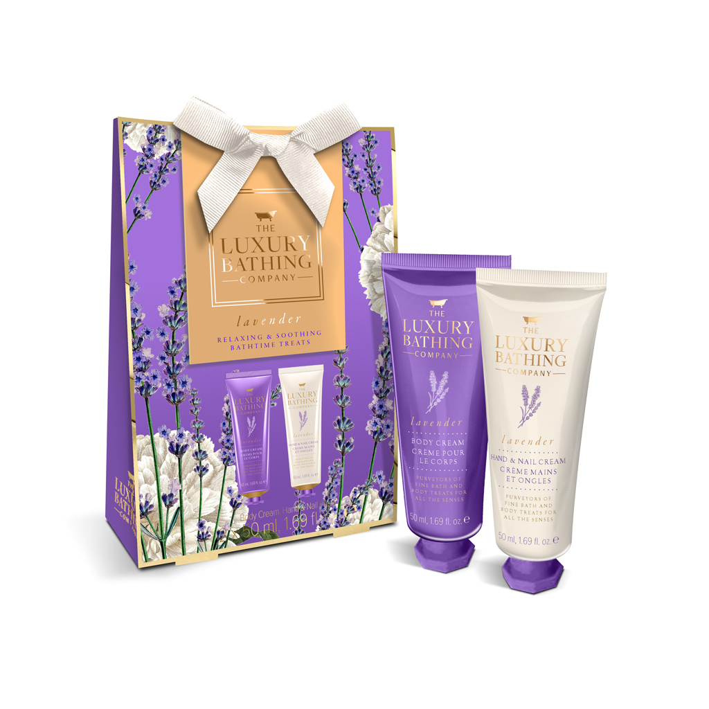 Lavender Peaceful Palms Gift Set