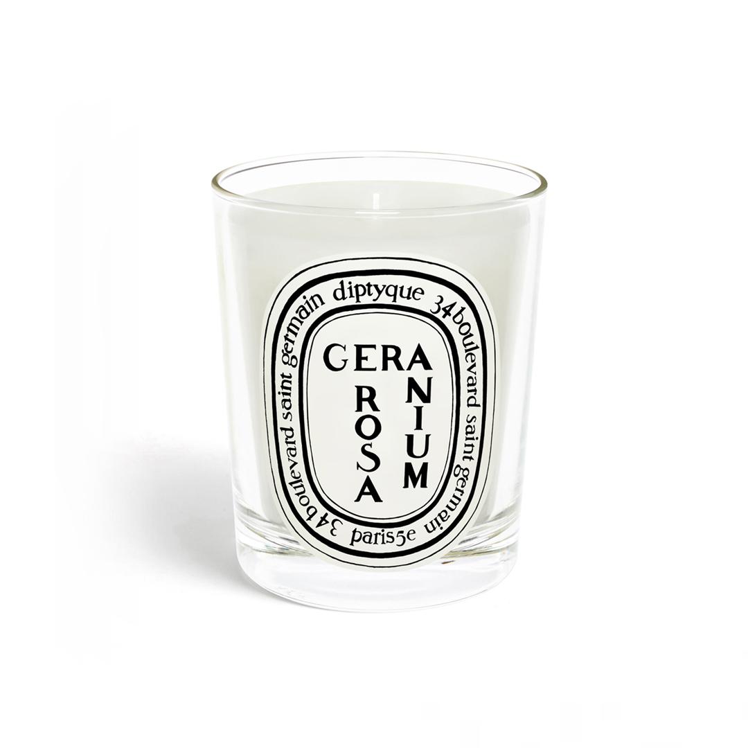 Candle Géranium Rosa