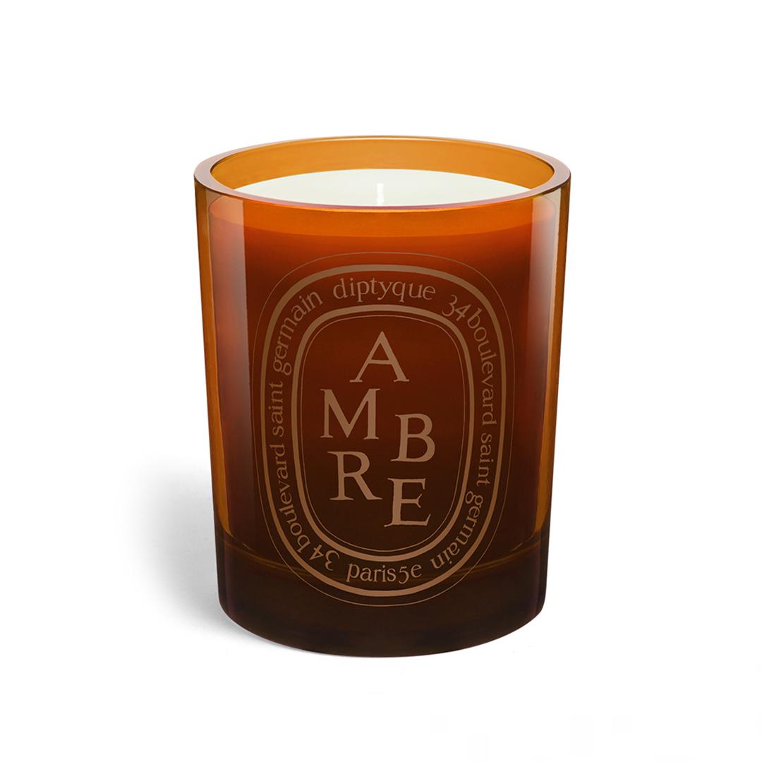Orange Candle Ambre
