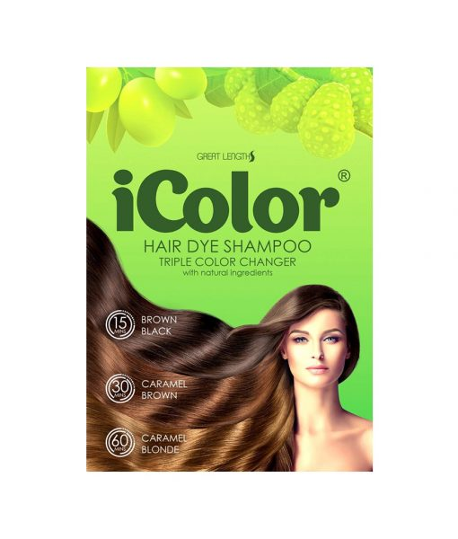 Hair Dye Shampoo Triple Color Changer