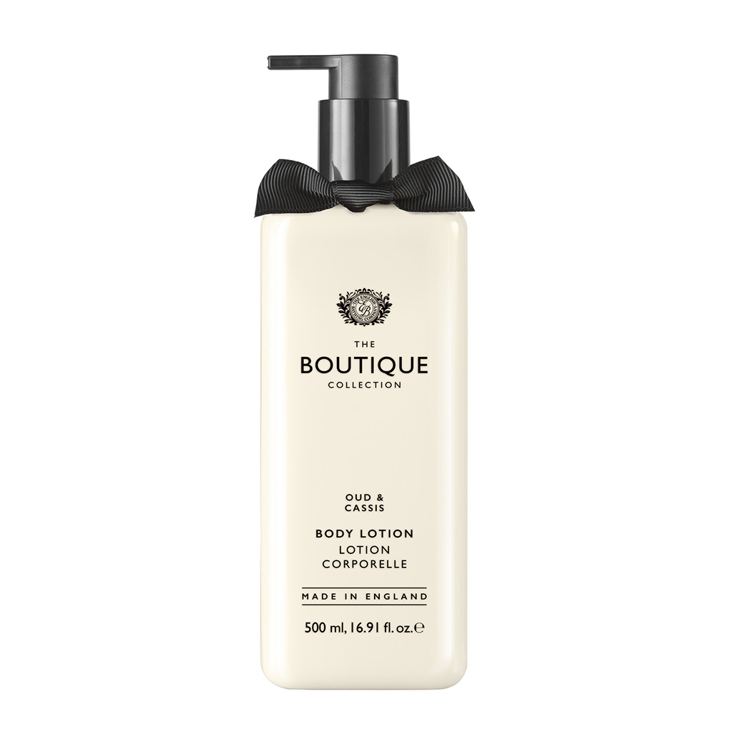 Oud & Cassis 500ml Body Lotion