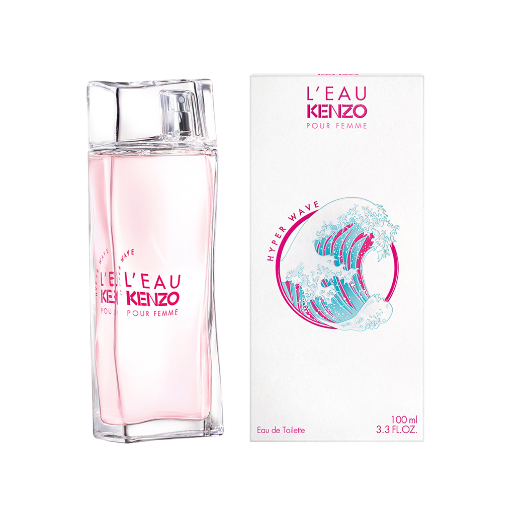L'eau Kenzo Hyper Wave Pour Femme Eau de Toilette Spray