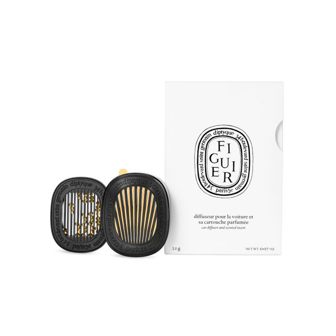 Perfumed Car Diffuser with Figuier