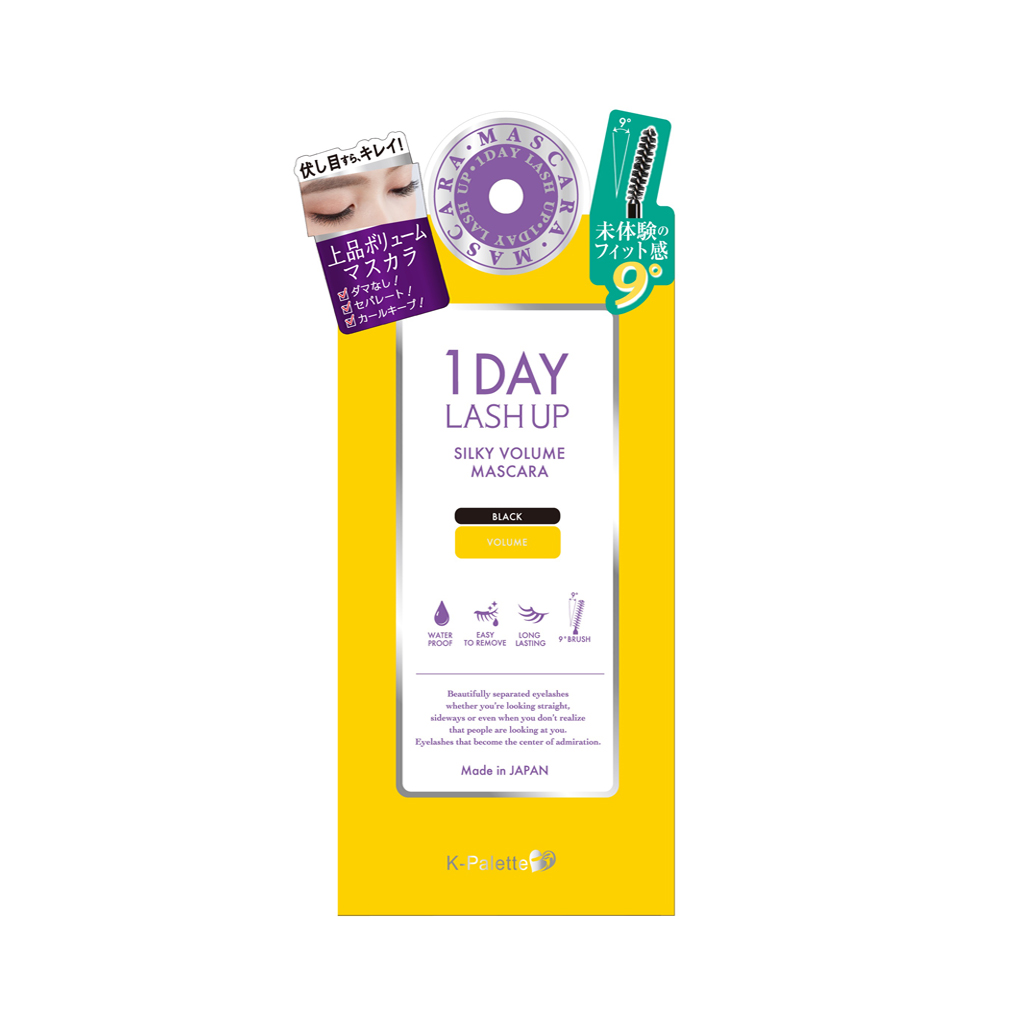 1Day Lash Up Silky Volume Mascara