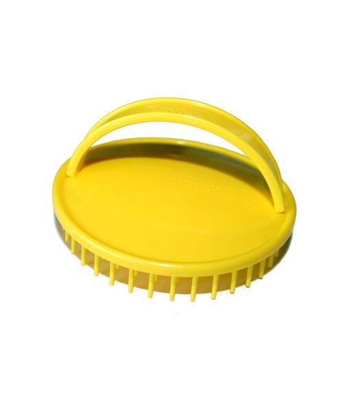D-6 Be-Bop Easy Care Shampoo/Massage Brush - Yellow