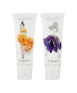 Meredith Wing Body Care Bag (30ml Body Wash and 30ml Body Lotion)