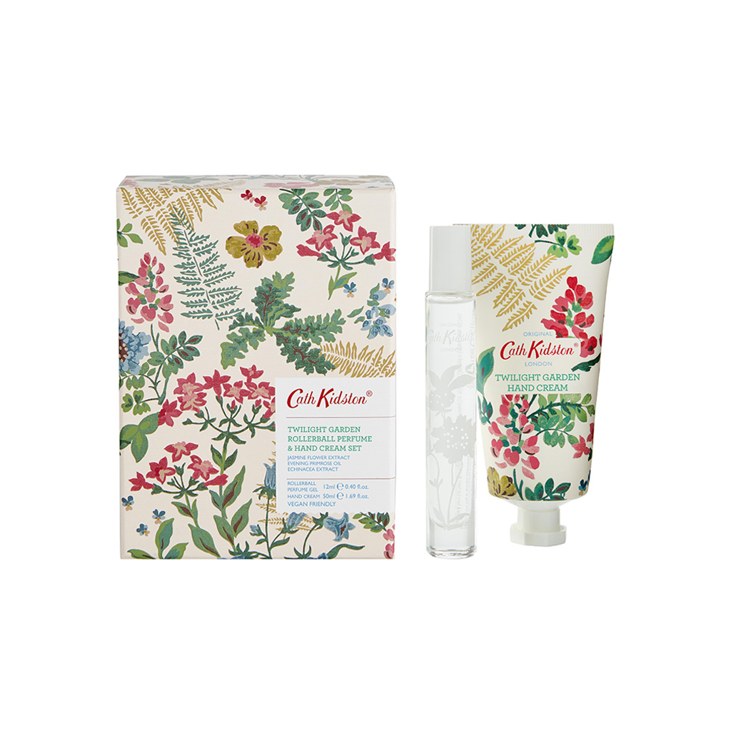 Twilight Garden Handcream & Roller Ball Set