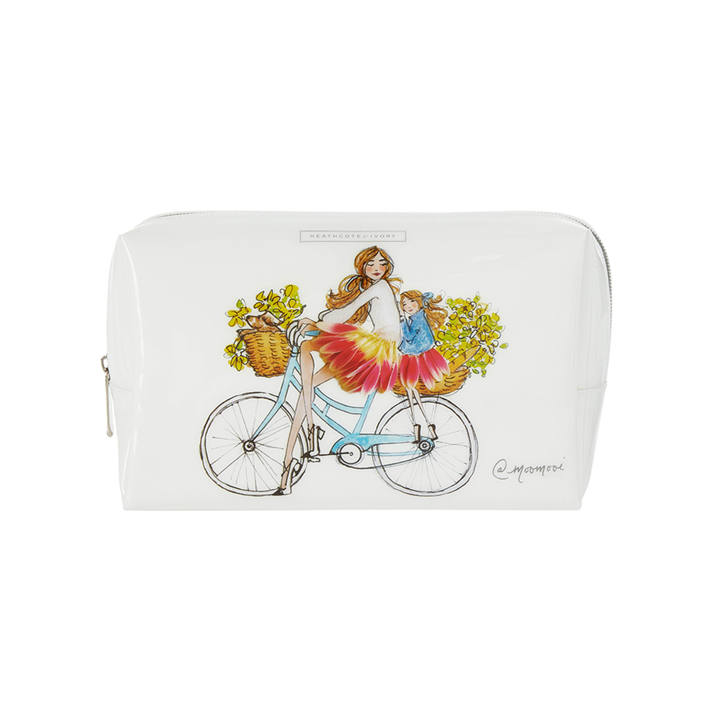 Meredith Wing Large Cosmetic Bag - Sunday Bike Rides