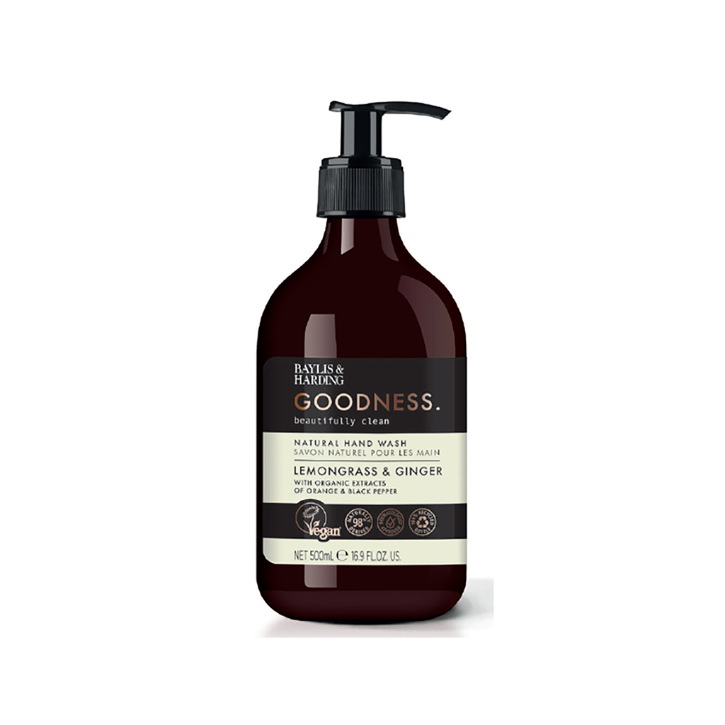 Goodness Lemongrass & Ginger 500ml Hand Wash