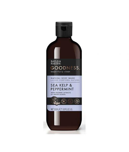 Goodness Sea Kelp & Peppermint 500ml Body Wash