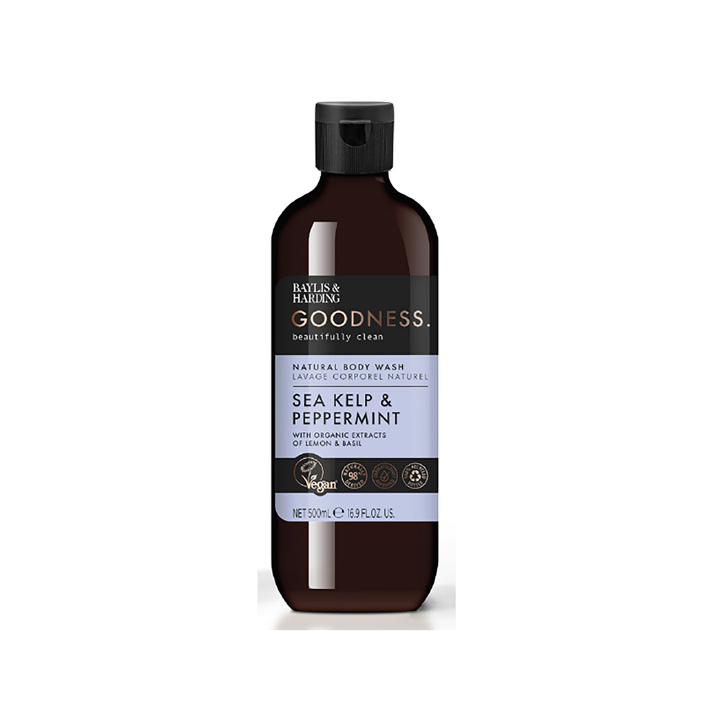 Goodness Sea Kelp & Peppermint 500ml Body Wash