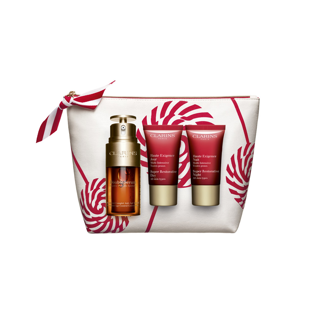 Double Serum and Super Restorative 2020 Holiday Gift Set