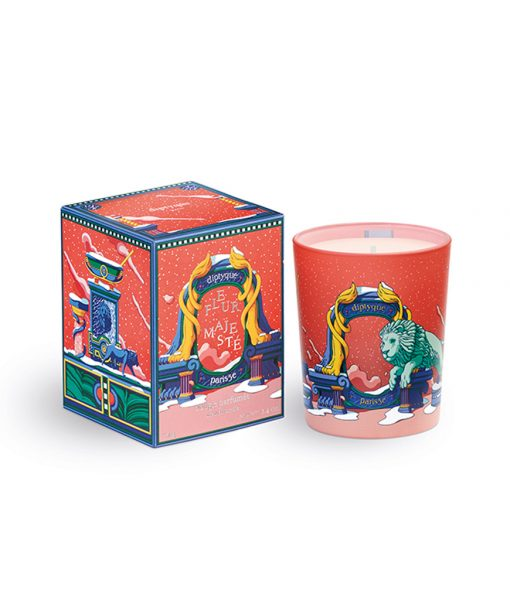 Candle 70g Spicy Floral (Fleur Majeste)