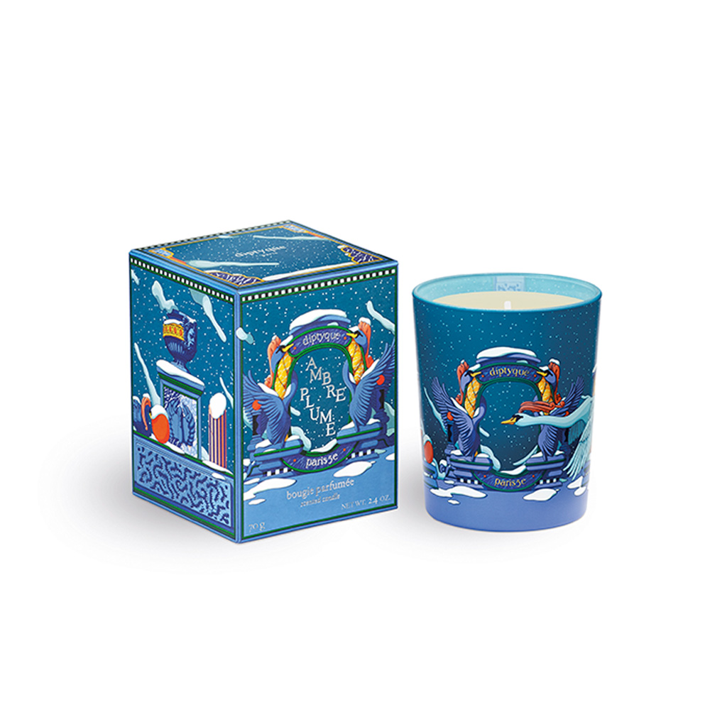 Candle 70g Spicy Fruity Ambre (Ambre Plume)
