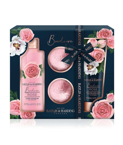 Boudoire Rose 4 Piece Set