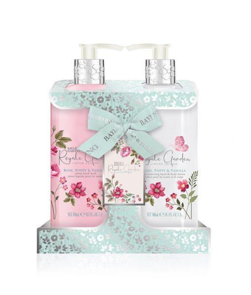 Royale Garden Rose Poppy & Vanilla 2 Bottle Set