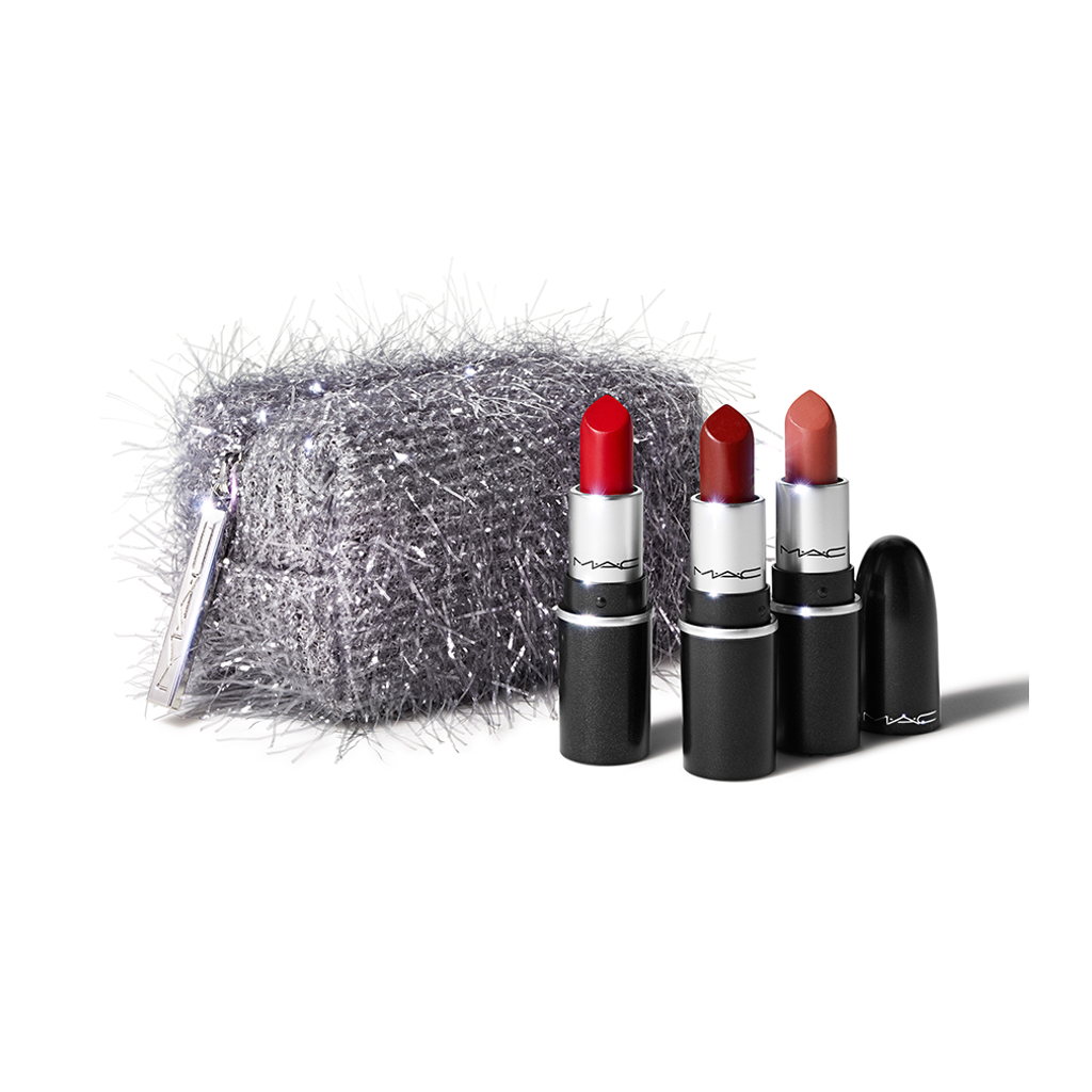 Fireworked Like a Charm Mini Lipstick Kit: Red