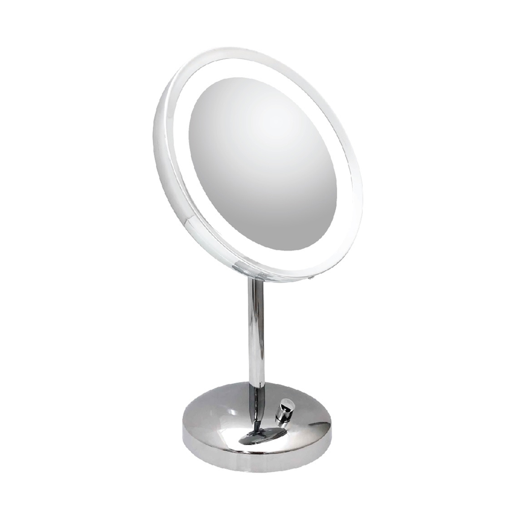 Classic Single Side Lighted Table Mirror (M-2V)