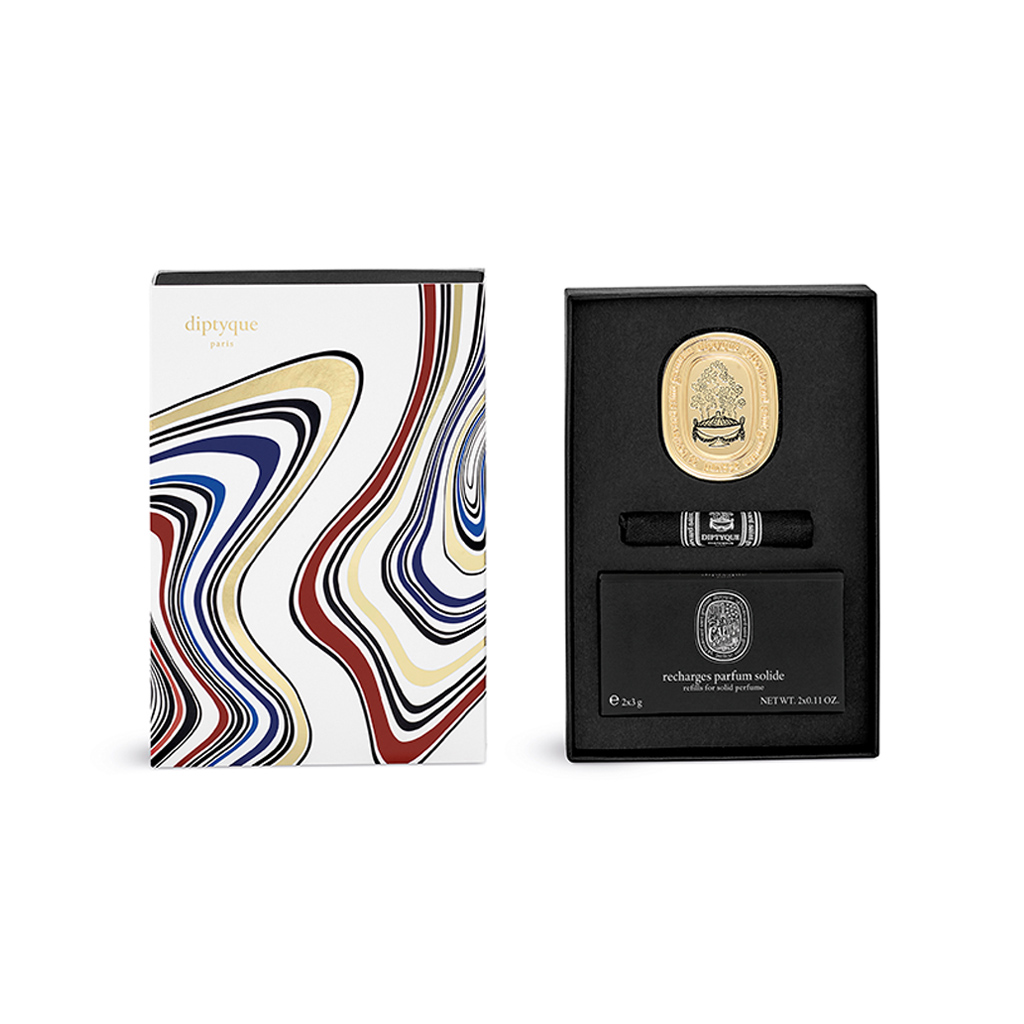 Limited-Edition Eau Capitale Refillable Solid Perfume Gift Box